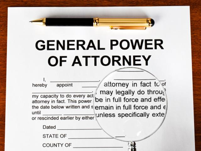General Power of Attorney UAE