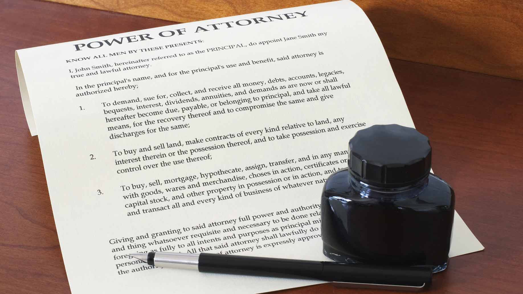 Things To Know About Powers of Attorney